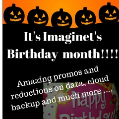 Imaginet's birthday promos